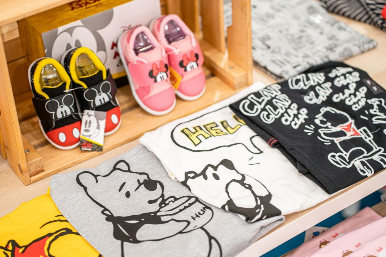Shop for your favourite Disney merchandise at Gurney Plaza from now until October 1.