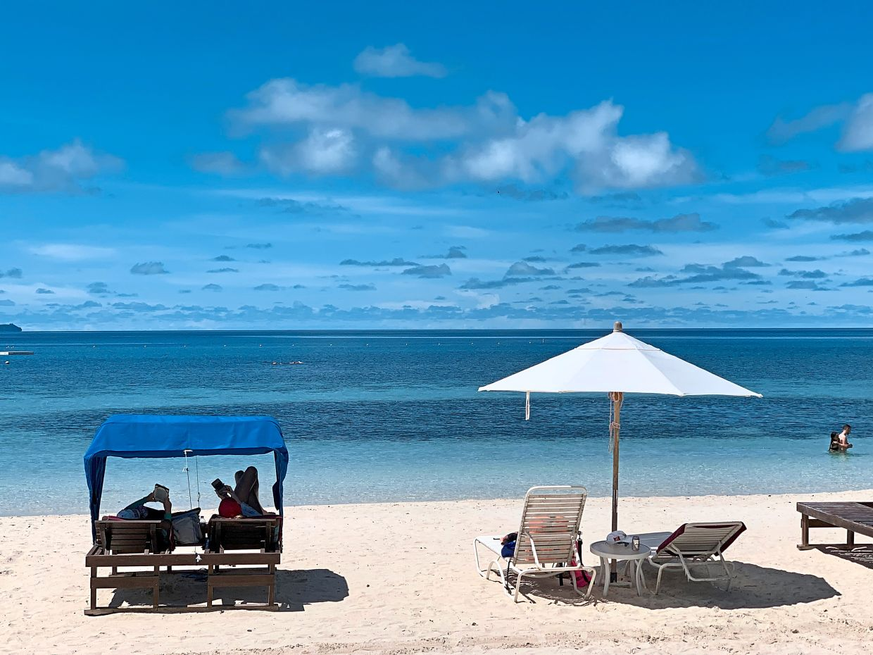 Too tired to swim or dive? Don't worry, Palau's beaches are perfect for a relaxing lie-in.