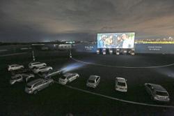 Modern take on drive-in cinemas