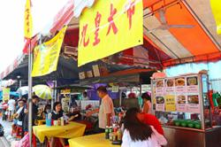 Dine-in not allowed at festive stalls