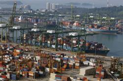Singapore exports grow faster