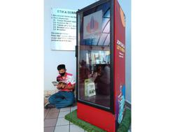 Book kiosk project a costly affair