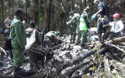 Missing chopper found in forest in Indonesia's Papua, crew survive