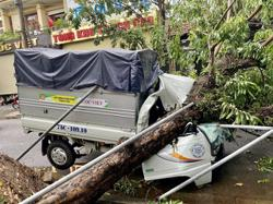 Storm Noul makes landfall in Vietnam, kills at least one person