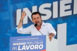 League's Salvini eyes electoral coup in Italy's Tuscany