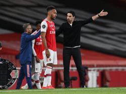 Arteta says he had fears Aubameyang would leave Arsenal