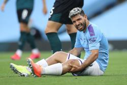 Aguero and Laporte to miss Man City's league opener against Wolves