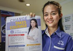 Friendly competition among women candidates in Likas, says MCA's Dr Chang