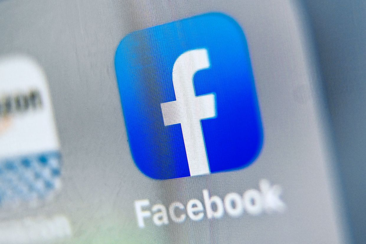 Facebook and other social media platform scrambled to stop the spread of a suicide video. — AFP