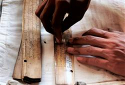 In a race against decay, Balinese youths preserve lontar manuscripts