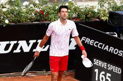 'I'm not perfect,' says Djokovic after losing cool at Italian Open