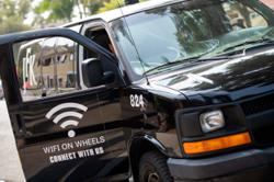 In California, WiFi minivans help disadvantaged students