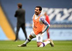 Man City's Gundogan sets 100 points target