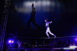South Koreans defy virus to attend drive-in circus