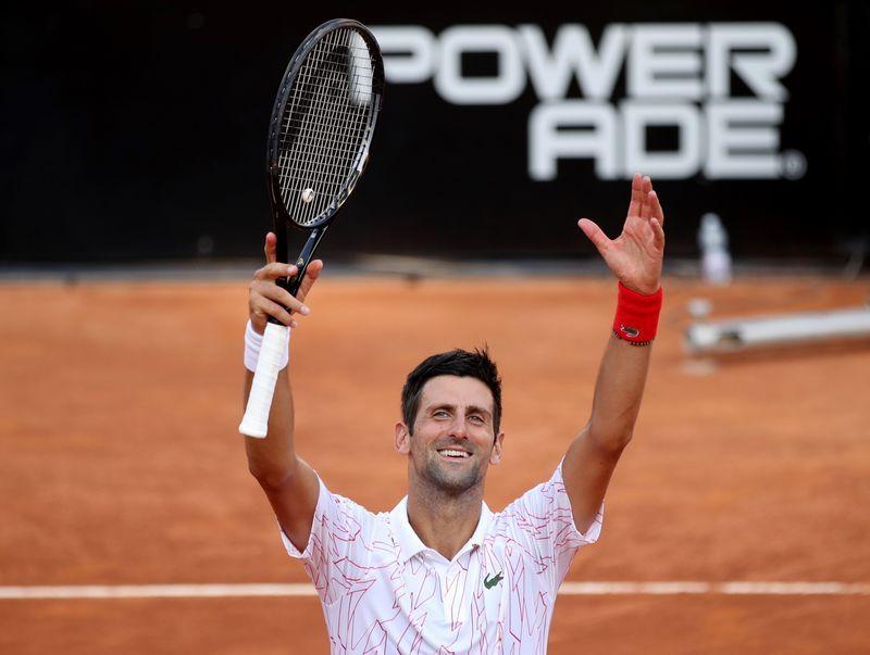 Tennis Djokovic To Face Schwartzman In Italian Open Final The Star