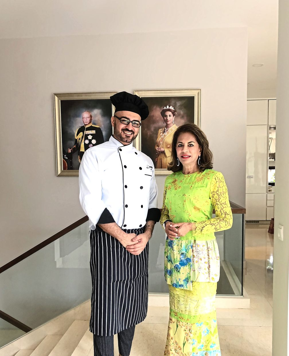 One of Hossein's friends who paved the way for him to become a personal chef is the former Sultanah Kalsom of Pahang. — HOSSEIN KARIMI