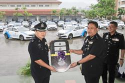 Penang police get new fleet of cars