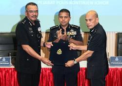 Police cadets encouraged to speak up