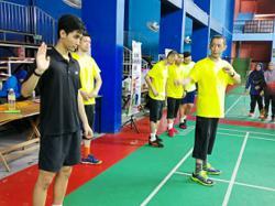 Misbun shows no signs of slowing down in juggling coaching duties