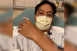 Actor Daniel Wu is hit by appendicitis twice in 18 months
