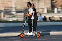 Rome's micro-mobility boost leads to complaints of reckless eScooter users