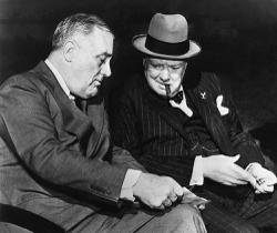 Trump and Brexit killed Winston Churchill's ghost