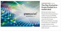 Green Packet partners MMAG for e-wallet services