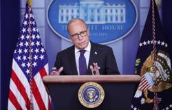 White House's Kudlow cites worries Britain might shut down