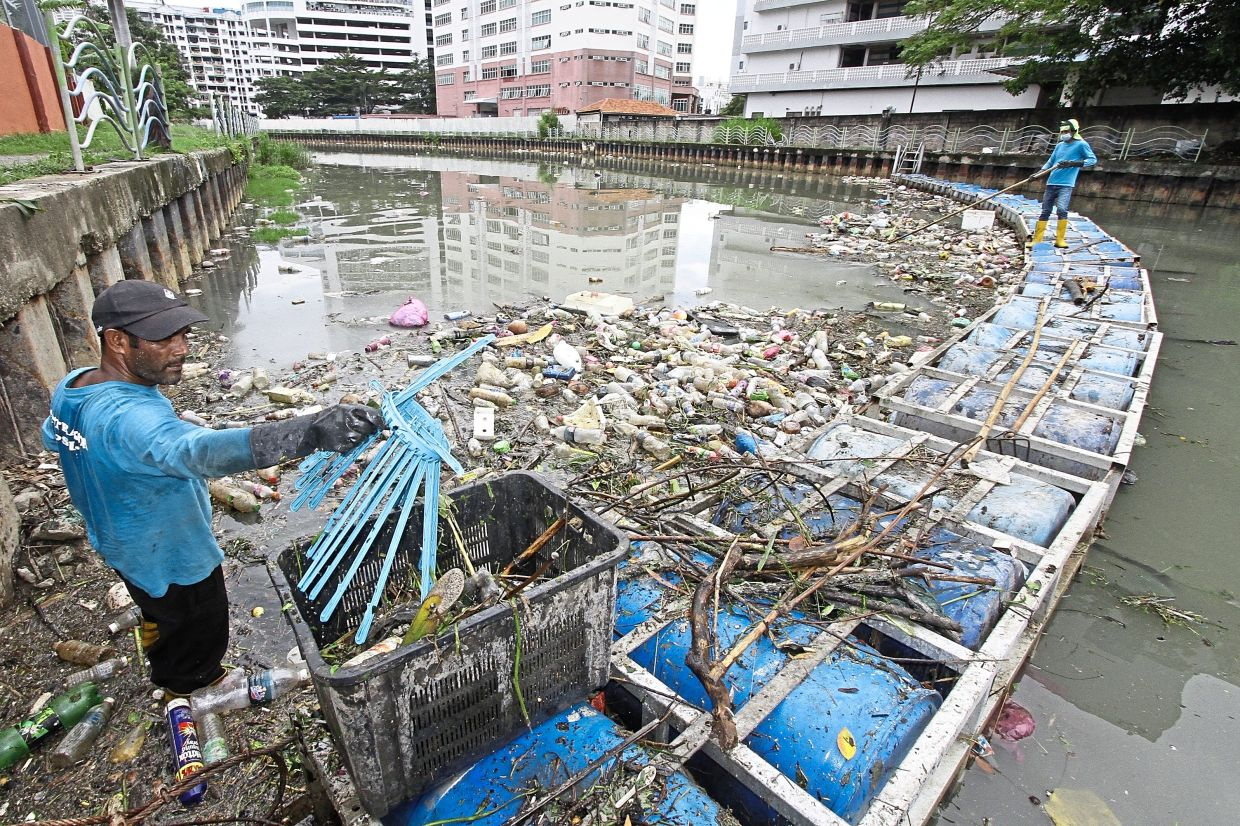 What we throw into drains ends up in rivers