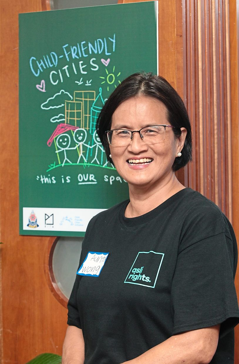 Association of Toy Libraries Malaysia president and Childline Foundation Malaysia founder Datin PH Wong. Photo: The Star/Art Chen