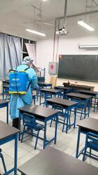 Penang school works to halt virus spread
