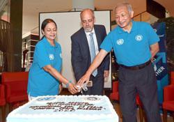 Celebrating peace for UN's 75th anniversary