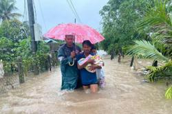 Myanmar: Hundreds of house destroyed and 3 killed by tropical storm Noul