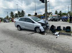 One dead, one injured in Sungkai car crash