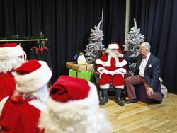Co-ho-ho-vid! Socially distanced Santas gear up to save Christmas