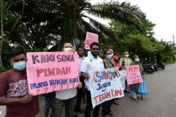 Setapak squatter residents want extension before vacating homes