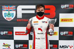 Nazim stays driven for the podium in British F3 C'ship