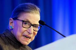 In the presence of greatness: An afternoon with Ruth Bader Ginsburg