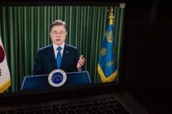 South Korean president proposes public health initiative to involve North