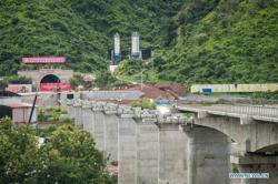 Laos-China railway - last major tunnel drilling through