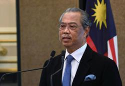 Muhyiddin tells crowd he is still in charge