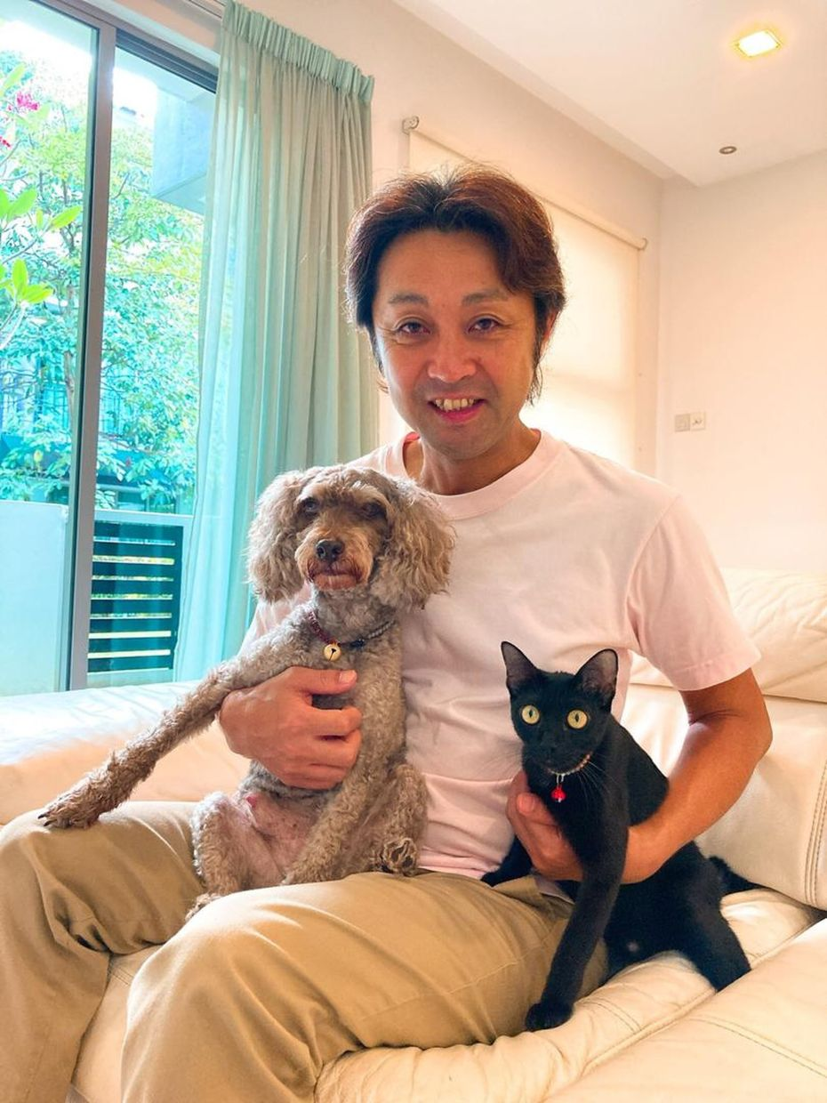 Takahashi with Sumii (right) and Noel.