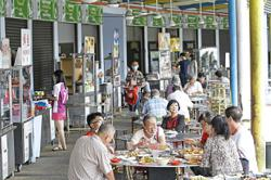 Generations of hawkers eke out a living at Padang Brown food court