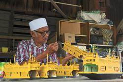 Woodcarver's passion still shines at 75