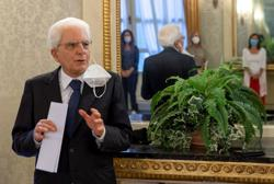 Italian president, in response to Johnson, says Italy also freedom-loving, but serious