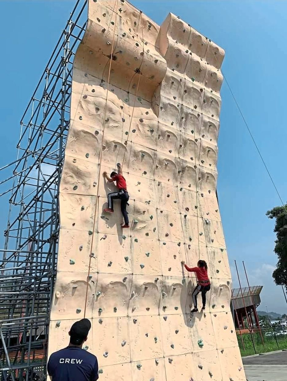 Climbers do not have difficulty adhering to the SOP as the activity does not require close contact.