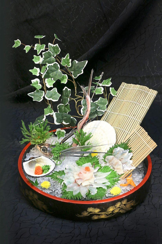 The fresh tobiuo is best savoured a la sashimi.