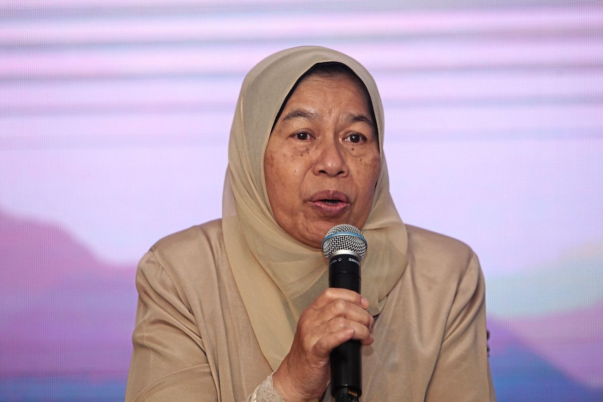 Zuraida says regulations, licensing and taxes have to be standardised for Airbnb and the hotel sector. — AZMAN GHANI/The Star