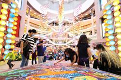 Vibrant spirit of Mid-Autumn Festival fills the air in KL mall