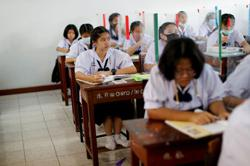 'Our first dictatorship is school': Thai kids revolt